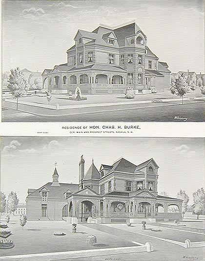 Residence of Hon. Chas. H. Burke