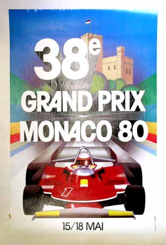 38 Grand Prix Monaco 1980