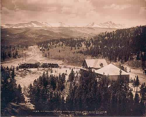 Mt. Audubon and Arapahoe Peak from Glacier Lakes-Ward