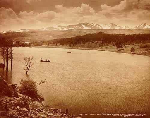 Mt. Audubon and Arapahoe Peak - Glacier Lake