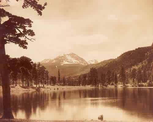 Copeland Lake and Mountain- Rocky Mountain National Park