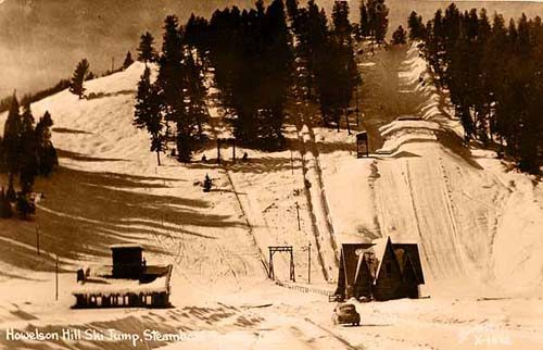 Howelsen Hill Ski Jump Steamboat Springs