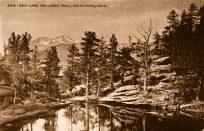 Gem Lake and Longs Peak