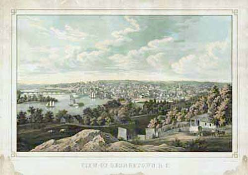 Bird's-eye View of Georgetown
