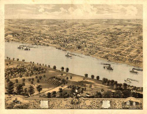 Bird's-eye View of Jefferson City