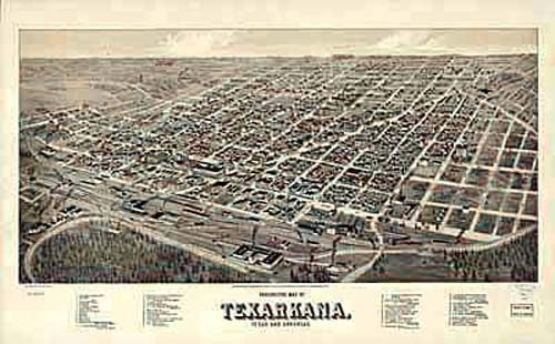Bird's-eye View of Texarkana