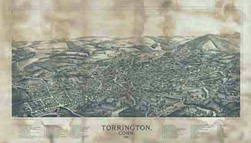 Bird's-eye View of Torrington