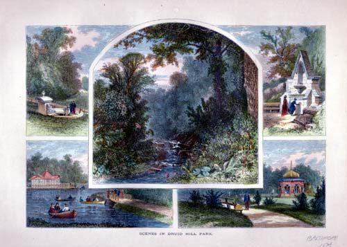 Scenes in Druid Hill Park