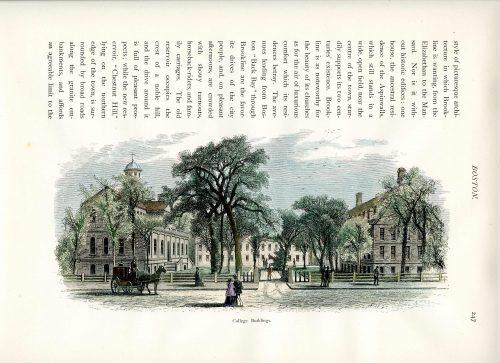 College Buildings at Harvard