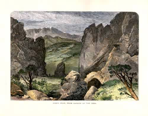 Pike's Peak from Garden of the Gods