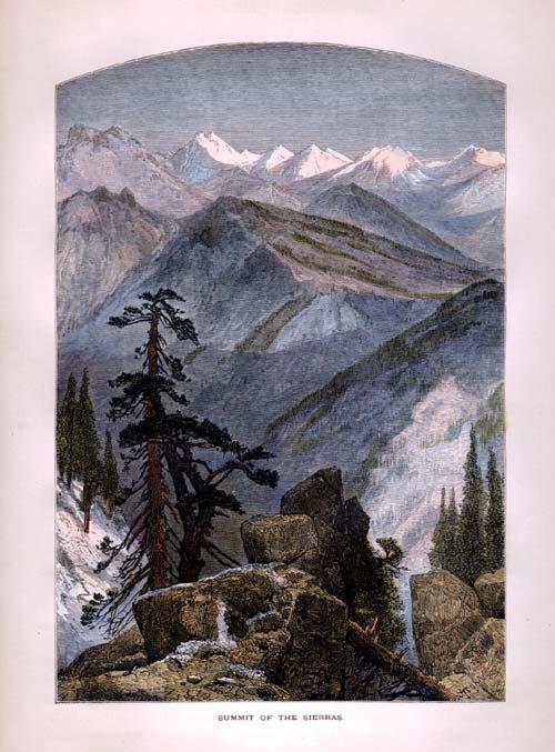 Summit of the Sierras