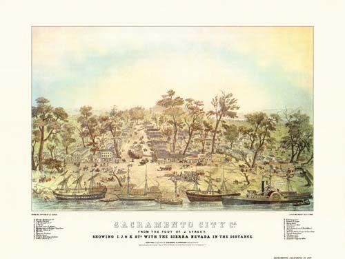 Sacramento: 1848