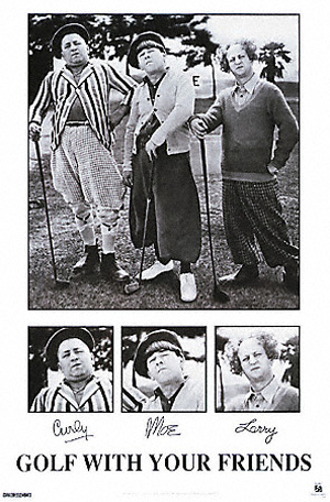 The Three Stooges - Golf with Your Friends