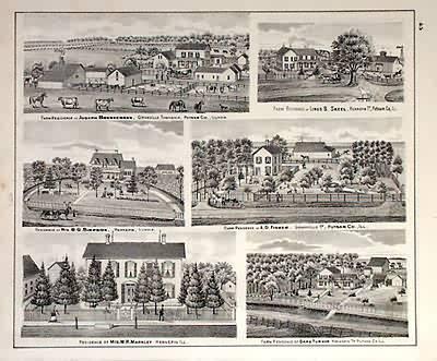 Farm Residences of Joseph Brennemann