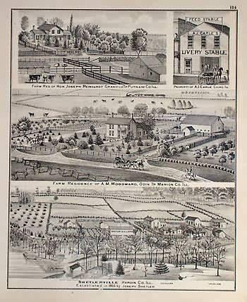 Farm residences of Joseph Reinhardt