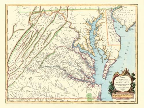 Virginia & Maryland: 1755