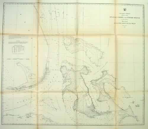 U.S. Coast Survey Atlantic Coast of the United States Sheet No. IV Mosquito Inlet to Key West