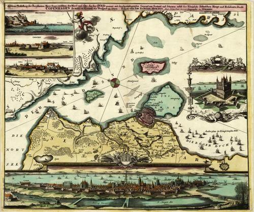 Accurate Vorstellung der Beruhmten Meer-Enge Zwischen der Nord... [Copenhagen]