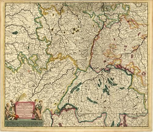 Accuratissima Rheni Superioris Mosae et Mosellae Tabula [Moselle]