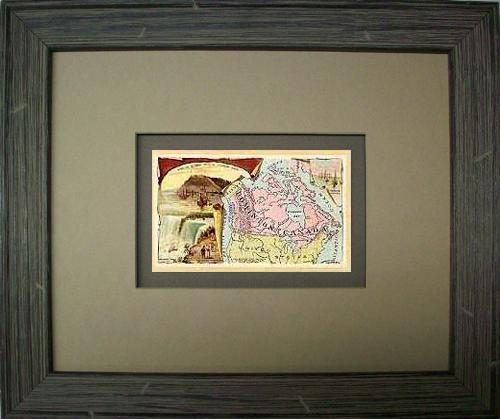 FRAMED Arbuckles Coffee Card of  Dominion of Canada'