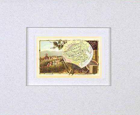 MATTED Arbuckles Coffee Card of Chinese Empire'