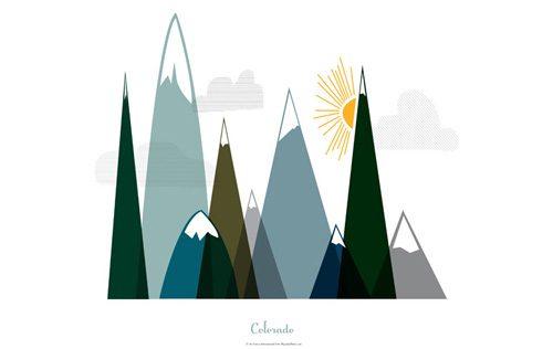 Colorado Mountain Peaks