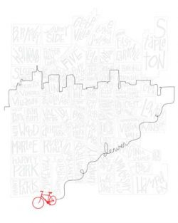 Bicycle in Denver