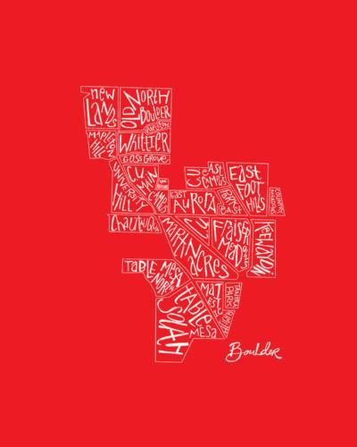 Boulder in Red
