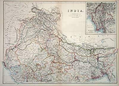 India (North Sheet)