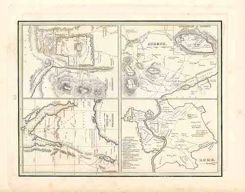 Jerusalem and Vicinity / Peninsula of Mt. Sinai / Rome / Athens