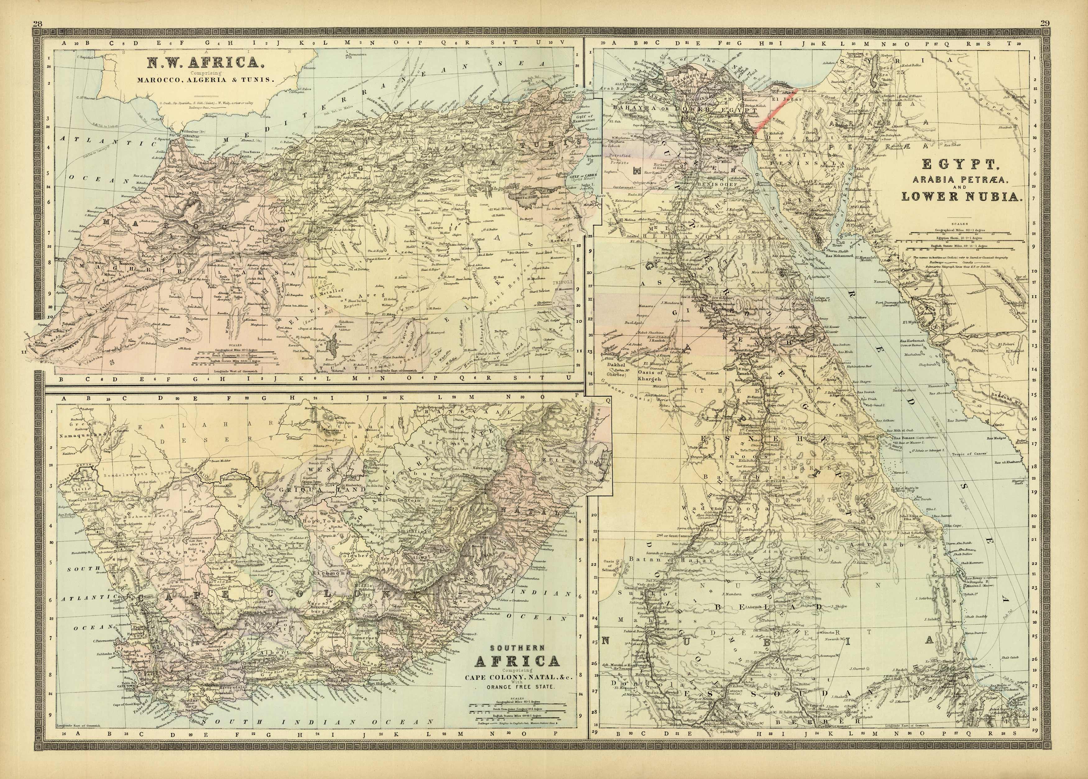 N.W. Africa