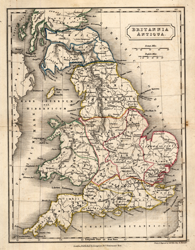 Britannia Antiqua. (Roman/Ancient Britain)