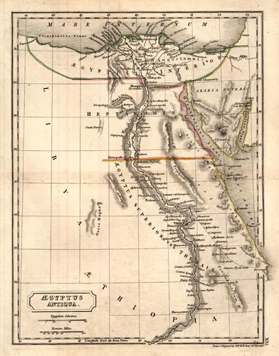 Aegyptus Antiqua. (The Roman Province of Egypt)