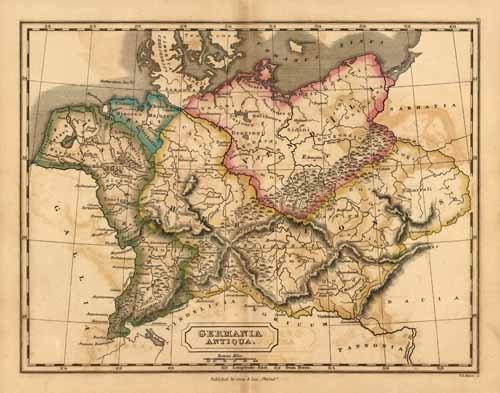 Germania Antiqua. (Ancient Europe)