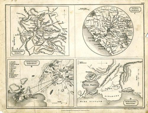 Chorographia Romana / Vicinia Romana / Chorographia Atheniensis / Chorographia Syracusana