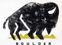 Bison Boulder