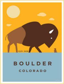 Boulder Buffalo