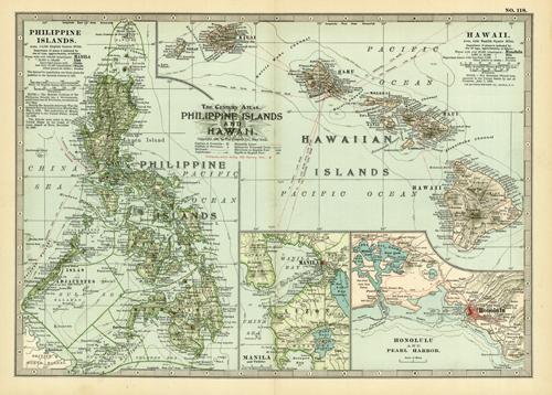 Philippine Islands and Hawaii