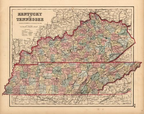 Kentucky and Tennessee