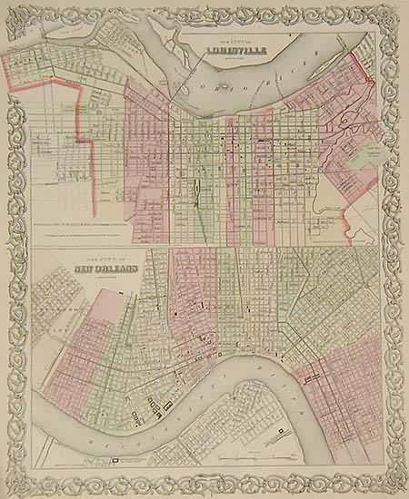 The City of Louisville / The City of New Orleans