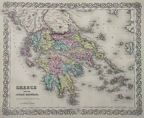 Greece and the Ionian Republic