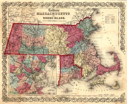 Massachusetts and Rhode Island