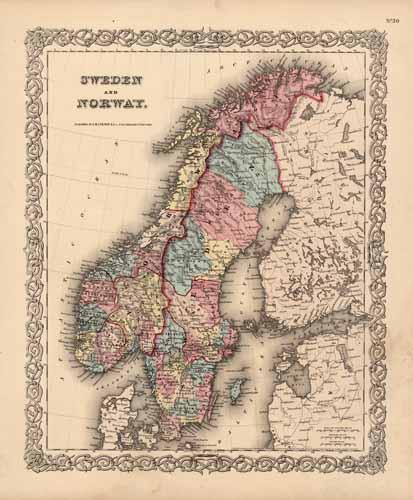 Sweden and Norway