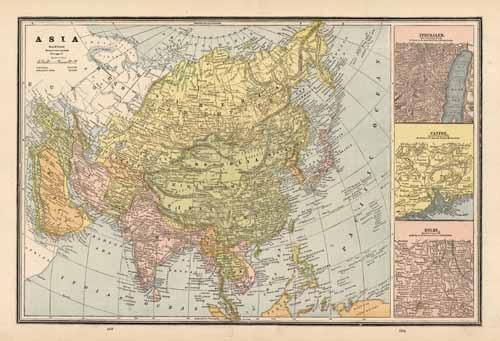 Asia and Principal Cities