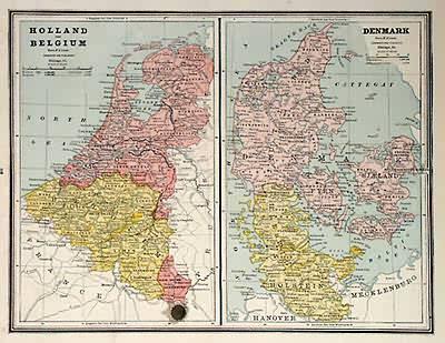 Holland and Belgium - Denmark