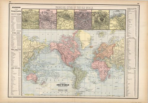 Chart of the World