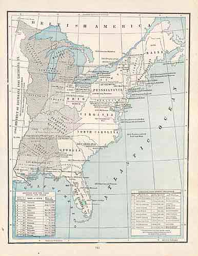 United States Historic Events: 1789 - 1845