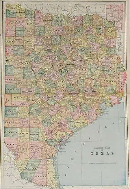 Eastern Half of Texas