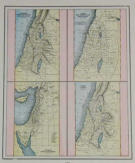 Four Views of the holy land kingdoms