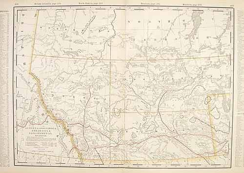 Alberta (Railroad Map)